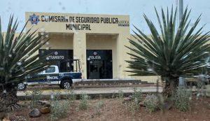 Comisaría de Seguridad Pública Municipal de Navojoa, Sonora, el 18 de marzo de 2020